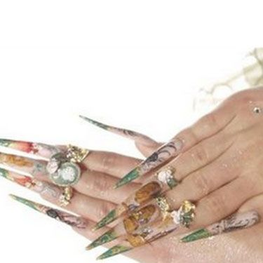"""<p>Every year, participants must create their custom nail art designs based on the theme set by the organisers and the nail models must also dress up in themed costumes.</p><p>This year's competition, which takes place on 27 October, has a theme of 'Fashion Meets Tradition.'</p><p><a href=""""http://www.cosmopolitan.co.uk/beauty-hair/the-best-nail-art-designs-inspiration-and-examples/"""" target=""""_blank"""">THE BEST NAIL ART DESIGNS AND INSPIRATION</a></p><p><a href=""""http://www.cosmopolitan.co.uk/beauty-hair/beauty-tips/halloween-nails-tutorials-how-tos?click=main_sr"""" target=""""_blank"""">HOW TO DO HALLOWEEN NAILS</a></p><p><a href=""""http://www.cosmopolitan.co.uk/beauty-hair/news/"""" target=""""_blank"""">GET THE LATEST BEAUTY AND HAIR NEWS</a></p>"""