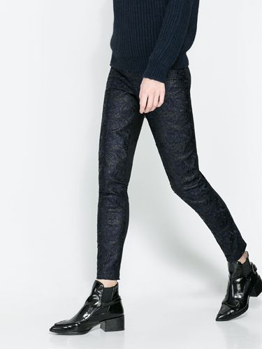 "<p>We are a little bit in love with these faux leather trousers, featuring a brocade leather pattern at the front, and cotton legging material at the back for extra comfort. Flat black boots and a chunky knit is all you need to complete the outfit.</p> <p>Faux leather trousers, £39.99, <a href=""http://www.zara.com/uk/en/new-this-week/woman/faux-leather-trousers-c287002p1464517.html"" target=""_blank"">Zara</a></p> <p><a href=""http://www.cosmopolitan.co.uk/fashion/shopping/ten-winter-boots-under-fifty-pounds"" target=""_blank"">TOP TEN WINTER BOOTS FOR UNDER £50</a></p> <p><a href=""http://www.cosmopolitan.co.uk/fashion/shopping/halloween-outfits"" target=""_blank"">EFFORTLESS HALLOWEEN OUTFITS FROM THE HIGH STREET</a></p> <p><a href=""http://www.cosmopolitan.co.uk/fashion/shopping/celebrity-winter-coat-inspiration"" target=""_blank"">CELEBRITY WINTER COAT INSPIRATION</a></p> <p> </p>"