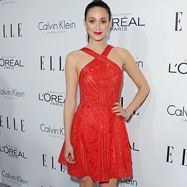 """<p>The Shameless star stood out in a beaded Elie Saab red halter-necked dress at the mag's 20th anniversary celebration of their Women in Hollywood issue. Between the frock and her sleek hair and statement lippy, we are positively swooning.</p><p><a href=""""http://www.cosmopolitan.co.uk/fashion/news/elle-magazine-melissa-mccarthy-cover"""" target=""""_blank"""">ELLE DEFENDS MELISSA MCCARTHY COVER</a></p><p><a href=""""http://www.cosmopolitan.co.uk/fashion/celebrity/best-dressed-mobo-awards"""" target=""""_blank"""">BEST DRESSED AT THE MOBO AWARDS</a></p><p><a href=""""http://www.cosmopolitan.co.uk/fashion/news/"""" target=""""_blank"""">GET MORE FASHION NEWS HERE</a></p><p> </p>"""
