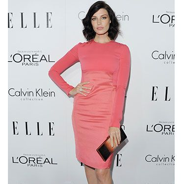 """<p>Mad Men's Jessica Pare opted for ladylike elegance in a pink cocktail dress during last night's festivities. But it's that tousled cropped hairstyle that's giving us some serious style envy...</p><p><a href=""""http://www.cosmopolitan.co.uk/fashion/news/elle-magazine-melissa-mccarthy-cover"""" target=""""_blank"""">ELLE DEFENDS MELISSA MCCARTHY COVER</a></p><p><a href=""""http://www.cosmopolitan.co.uk/fashion/celebrity/best-dressed-mobo-awards"""" target=""""_blank"""">BEST DRESSED AT THE MOBO AWARDS</a></p><p><a href=""""http://www.cosmopolitan.co.uk/fashion/news/"""" target=""""_blank"""">GET MORE FASHION NEWS HERE</a></p>"""