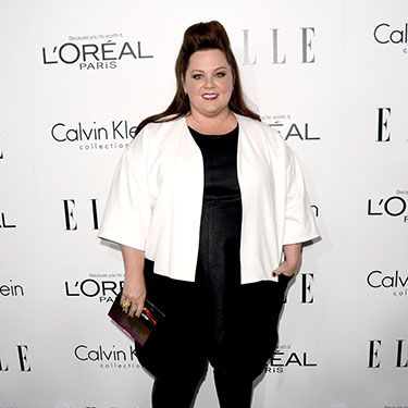 """<p>As one of the night's honorees, Melissa made a bold red carpet statement in her black and white ensemble. While we aren't loving her sky-high hair, that cropped white jacket is *extremely* chic. </p><p><a href=""""http://www.cosmopolitan.co.uk/fashion/news/elle-magazine-melissa-mccarthy-cover"""" target=""""_blank"""">ELLE DEFENDS MELISSA MCCARTHY COVER</a></p><p><a href=""""http://www.cosmopolitan.co.uk/fashion/celebrity/best-dressed-mobo-awards"""" target=""""_blank"""">BEST DRESSED AT THE MOBO AWARDS</a></p><p><a href=""""http://www.cosmopolitan.co.uk/fashion/news/"""" target=""""_blank"""">GET MORE FASHION NEWS HERE</a></p>"""