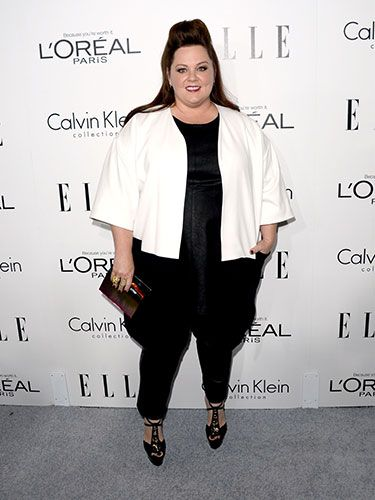 "<p>As one of the night's honorees, Melissa made a bold red carpet statement in her black and white ensemble. While we aren't loving her sky-high hair, that cropped white jacket is *extremely* chic. </p> <p><a href=""http://www.cosmopolitan.co.uk/fashion/news/elle-magazine-melissa-mccarthy-cover"" target=""_blank"">ELLE DEFENDS MELISSA MCCARTHY COVER</a></p> <p><a href=""http://www.cosmopolitan.co.uk/fashion/celebrity/best-dressed-mobo-awards"" target=""_blank"">BEST DRESSED AT THE MOBO AWARDS</a></p> <p><a href=""http://www.cosmopolitan.co.uk/fashion/news/"" target=""_blank"">GET MORE FASHION NEWS HERE</a></p>"