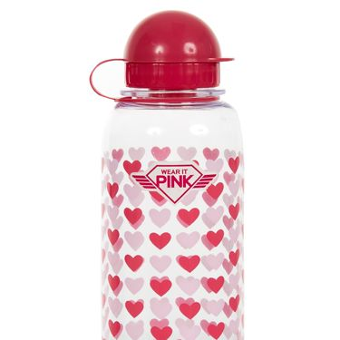 <p>Keep hydrated with this adorable pink water bottle. </p>