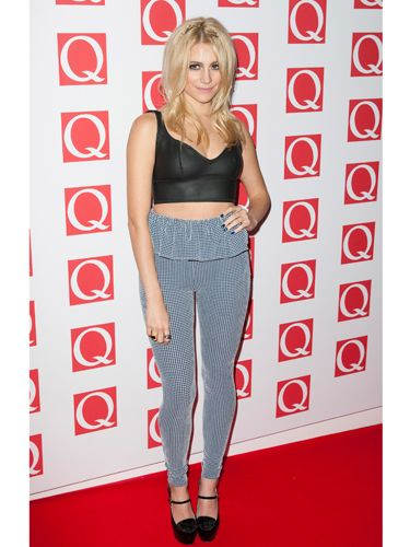 """<p>Showing off her petite frame and toned tum, Pixie paired a simple black crop-top with gingham-peplum leggings - a combination we thought would never work, but somehow, Pixie manages to pull together! </p> <p><a href=""""http://www.cosmopolitan.co.uk/fashion/celebrity/best-dressed-celebrities-18-october"""" target=""""_blank"""">BEST DRESSED CELEBRITIES </a></p> <p><a href=""""http://www.cosmopolitan.co.uk/fashion/celebrity/best-dressed-mobo-awards"""" target=""""_blank"""">BEST DRESSED AT THE MOBO AWARDS</a></p> <p><a href=""""http://www.cosmopolitan.co.uk/fashion/celebrity/best-dress-attitude-awards"""" target=""""_blank"""">BEST DRESSED AT THE ATTITUDE AWARDS</a></p>"""