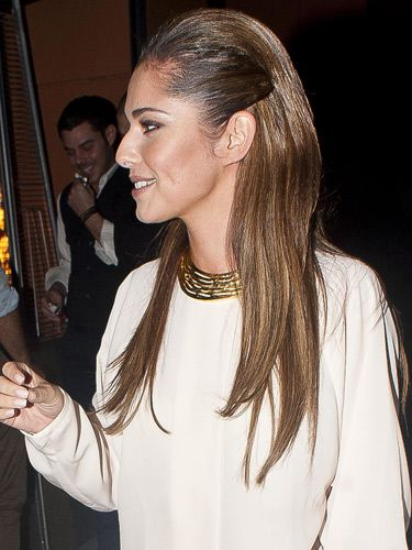 "<p>We'll let Cheryl Cole demonstrate perhaps the coolest hairstyle of the season: The straight 'n' sleek look with slick sides. Also seen on Lily Collins and <a href=""http://www.cosmopolitan.co.uk/beauty-hair/news/styles/celebrity/lea-michele-wet-look-hair"" target=""_blank"">Lea Michele</a>, this trend was born on the Victoria Beckham Spring/Summer 2013 catwalk and it's not going anywhere fast. The key thing here is ""sleek, not grease"". Repeat and remember.</p>"