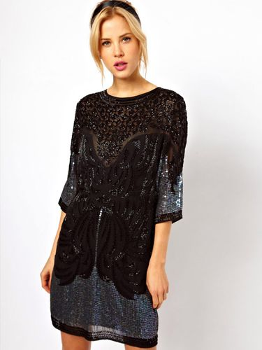 What to wear to an office party :: Exciting black dresses for ...
