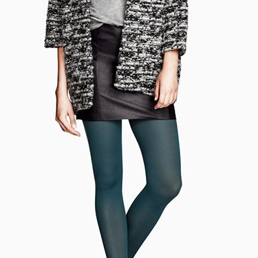 """<p>If you're not *quite* ready for an eye-catching colour like those from Forever 21, pick up this ladylike, matte style&#x3B; it's perfect for the workday.</p><p>80 denier tights in Petrol, £3.99, <a href=""""http://www.hm.com/gb/product/16023?article=16023-D"""" target=""""_blank"""">H&M</a></p><p><a href=""""http://www.cosmopolitan.co.uk/fashion/shopping/office-party-dresses"""" target=""""_blank"""">THE OFFICE PARTY DRESS EDIT</a></p><p><a href=""""http://www.cosmopolitan.co.uk/fashion/shopping/new-in-store-22-oct"""" target=""""_blank"""">NEW IN STORE THIS WEEK</a></p><p><a href=""""http://www.cosmopolitan.co.uk/fashion/shopping/"""" target=""""_blank"""">SHOP THE LATEST FASHION LOOKS</a></p>"""
