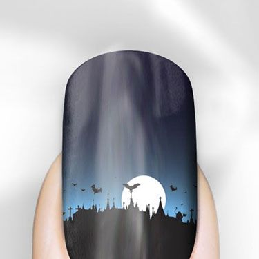 """<p>These nails have such an intricate design, there's no WAY we could ever create this using polish and a brush. But doesn't the gradient design look amazing? We need.</p><p>Halloween Nail Wraps, £6.99, <a href=""""http://www.rebelnails.co.uk/halloween-nail-wraps.html"""" target=""""_blank"""">Rebel Nails</a></p><p><a href=""""http://www.cosmopolitan.co.uk/fashion/news/halloween-outfits?click=main_sr"""" target=""""_blank"""">EFFORTLESS HALLOWEEN OUTFITS FROM THE HIGH STREET</a></p><p><a href=""""http://www.cosmopolitan.co.uk/beauty-hair/beauty-tips/halloween-nails-tutorials-how-tos?click=main_sr"""" target=""""_blank"""">HOW TO DO HALLOWEEN NAILS</a></p><p><a href=""""http://www.cosmopolitan.co.uk/fashion/celebrity/celebrity-halloween-costumes?click=main_sr"""" target=""""_blank"""">BEST CELEBRITY HALLOWEEN COSTUMES</a></p><p> </p>"""