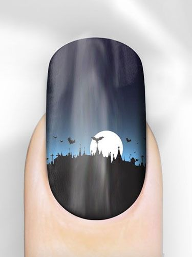 "<p>These nails have such an intricate design, there's no WAY we could ever create this using polish and a brush. But doesn't the gradient design look amazing? We need.</p> <p>Halloween Nail Wraps, £6.99, <a href=""http://www.rebelnails.co.uk/halloween-nail-wraps.html"" target=""_blank"">Rebel Nails</a></p> <p><a href=""http://www.cosmopolitan.co.uk/fashion/news/halloween-outfits?click=main_sr"" target=""_blank"">EFFORTLESS HALLOWEEN OUTFITS FROM THE HIGH STREET</a></p> <p><a href=""http://www.cosmopolitan.co.uk/beauty-hair/beauty-tips/halloween-nails-tutorials-how-tos?click=main_sr"" target=""_blank"">HOW TO DO HALLOWEEN NAILS</a></p> <p><a href=""http://www.cosmopolitan.co.uk/fashion/celebrity/celebrity-halloween-costumes?click=main_sr"" target=""_blank"">BEST CELEBRITY HALLOWEEN COSTUMES</a></p> <p> </p>"