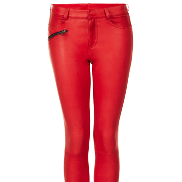 """<p>Channel your inner biker and add a flash of colour in these classic leather trousers</p><p><a href=""""http://www.cosmopolitan.co.uk/fashion/shopping/miranda-kerr-mango-winter-collection"""" target=""""_blank"""">MIRANDA KERR FOR MANGO AUTUMN/WINTER 13</a></p><p><a href=""""http://www.cosmopolitan.co.uk/fashion/news/mollie-king-loved-by-mollie-collection-oasis"""" target=""""_blank"""">MOLLIE KING'S COLLECTION FOR OASIS</a></p><p><a href=""""http://www.cosmopolitan.co.uk/fashion/news/kardashian-sisters-launch-lipsy-collection"""" target=""""_blank"""">THE KARDASHIAN KOLLECTION FOR LIPSY</a></p>"""