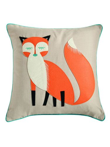 "<p>Isn't he cute? Embracing the trend for all things Woodland, this lovely little cushion will add a little colour and flair to your sofa or bed.</p> <p>Felt Fox Cushion from <a href=""http://www.dunelm-mill.com/shop/felt-fox-cushion-324684"" target=""_blank"">Dunelm</a>, £12.99</p> <p><a href=""http://www.cosmopolitan.co.uk/celebs/cosmo-girl/cosmo-blog-awards-2013-blog?click=main_sr"" target=""_blank"">COSMO BLOG AWARDS 2013</a></p> <p><a href=""http://www.cosmopolitan.co.uk/blogs/cosmo-blog-awards-2013/blogger-hot-topics-cosmo-blog-awards-winners?click=main_sr"" target=""_blank"">COSMO BLOG AWARDS WINNERS</a></p> <p><a href=""http://www.cosmopolitan.co.uk/blogs/cosmo-blog-awards-2013/final-countdown-blogger-hot-topics?click=main_sr"" target=""_blank"">BLOGGER HOT TOPICS</a></p> <p> </p>"