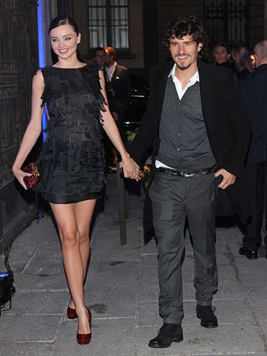 "<p>A pregnant Miranda held hands with Orlando exiting a Fashion Week show in Milan in 2010. Chicest mum-to-be we've ever seen...</p> <p><a href=""http://www.cosmopolitan.co.uk/celebs/celebrity-gossip/miranda-kerr-orlando-bloom-split"" target=""_blank"">MIRANDA KERR AND ORLANDO BLOOM SPLIT</a></p> <p><a href=""http://www.cosmopolitan.co.uk/fashion/shopping/miranda-kerr-mango-winter-collection"" target=""_blank"">MIRANDA KERR MODELS MANGO WINTER 2013 COLLECTION</a></p> <p><a href=""http://www.cosmopolitan.co.uk/celebs/celebrity-gossip/"" target=""_blank"">GET MORE CELEBRITY NEWS</a></p>"