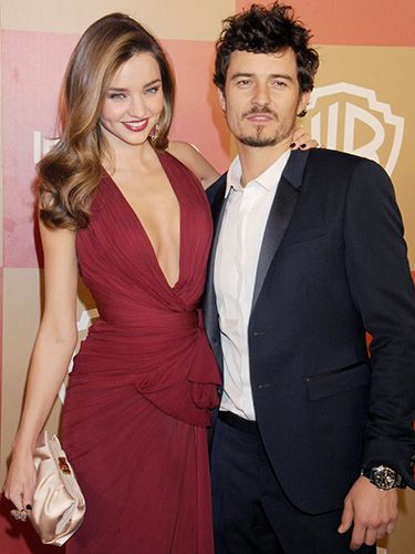 "<p>The gorgeous couple looked absolutely adorable on the red carpet of the InStyle and Warner Bros. Golden Globes party. Her dress is breath-taking; and Orlando's suit isn't too shabby either. </p> <p><a href=""http://www.cosmopolitan.co.uk/celebs/celebrity-gossip/miranda-kerr-orlando-bloom-split"" target=""_blank"">MIRANDA KERR AND ORLANDO BLOOM SPLIT</a></p> <p><a href=""http://www.cosmopolitan.co.uk/fashion/shopping/miranda-kerr-mango-winter-collection"" target=""_blank"">MIRANDA KERR MODELS MANGO WINTER 2013 COLLECTION</a></p> <p><a href=""http://www.cosmopolitan.co.uk/celebs/celebrity-gossip/"" target=""_blank"">GET MORE CELEBRITY NEWS</a></p>"