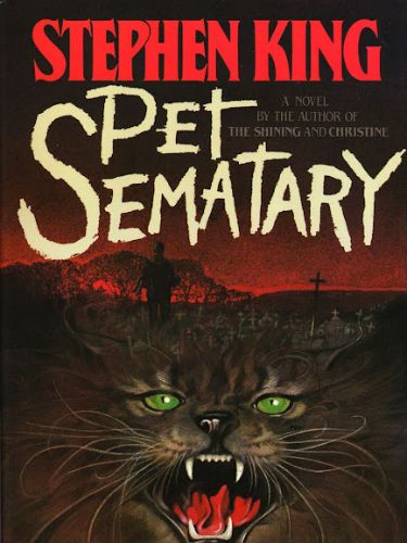 """<p><strong>Pet Sematary by Stephen King</strong></p> <p>A creepy pet burial ground that can bring furry friends back to life. Except they won't have a soul. The cemetery's magical powers resurrect a little boy with TERRIFYING consequences. Stephen King sure knows how to give us the willies.</p> <p><strong>FREEZER FACTOR: 3/5</strong></p> <p>Pet Sematary by Stephen King (£8.99, Hodder), is available on <a href=""""http://www.amazon.co.uk/Pet-Sematary-Stephen-King/dp/1444708139"""" target=""""_blank"""">Amazon</a>.</p>"""