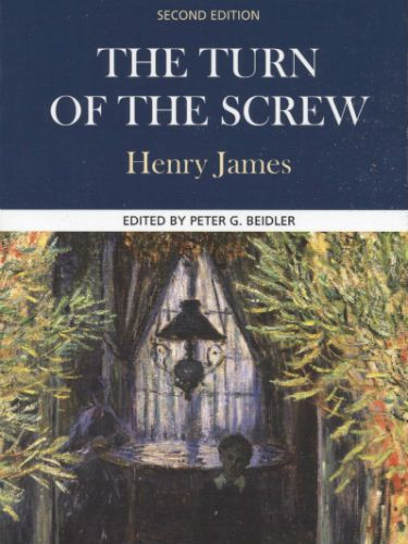"""<p><span><strong>The Turn of the Screw by Henry James</strong></span></p> <p>In an old house on Christmas Eve, the subject of ghosts is brought up. A man called Douglas tells of his sister's governess, who'd seen apparitions and recorded her experience in a manuscript. As the story unfolds, it just gets scarier and scarier. There's lots of underlying themes, particularly with regard to social class but we're usually too busy sweating and stressing and all the other things that come with being PETRIFIED to notice. </p> <p><strong>FREEZER FACTOR: 5/5</strong></p> <p>The Turn of the Screw by Henry James (£2.00, Dover Publications Inc ), is available on <a href=""""http://www.amazon.co.uk/Turn-Screw-Dover-Thrift/dp/0486266842"""" target=""""_blank"""">Amazon</a>.<br /><strong> <!--[if !supportLineBreakNewLine]--></strong><br /><strong> <!--[endif]--></strong></p>"""