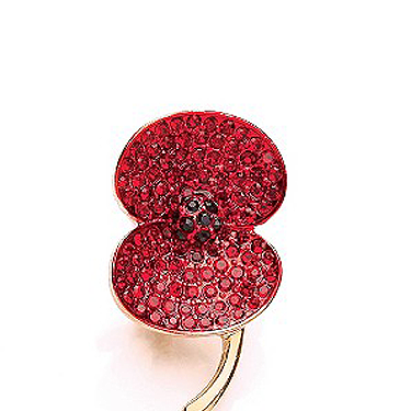 """<p>Buy this poppy brooch for £10 and H.Samuel will donate a third to RBL. Talk about retail therapy!</p><p>Buckley Stone Set Poppy Brooch, £10, <a href=""""http://www.hsamuel.co.uk/webstore/d/1492578/buckley%20stone%20set%20poppy%20brooch/"""" target=""""_blank"""">hsamuel.co.uk</a></p><p><a href=""""http://www.cosmopolitan.co.uk/fashion/shopping/ten-winter-boots-under-fifty-pounds"""" target=""""_blank"""">TOP TEN WINTER BOOTS FOR UNDER £50</a></p><p><a href=""""http://www.cosmopolitan.co.uk/fashion/shopping/easy-halloween-outfits-2013"""" target=""""_blank"""">HAUTE HALLOWEEN: 13 SPOOKY STYLES FOR UNDER £25</a></p><p><a href=""""http://www.cosmopolitan.co.uk/fashion/shopping/womens-clothing-under-ten-pounds"""" target=""""_blank"""">DAILY FASHION FIX: SHOP BARGAIN BUYS FOR £10 OR LESS</a></p><p> </p>"""