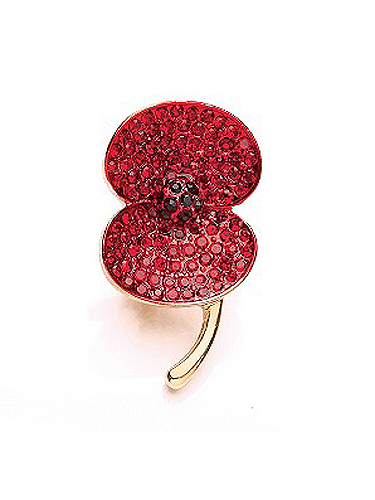 "<p>Buy this poppy brooch for £10 and H.Samuel will donate a third to RBL. Talk about retail therapy!</p> <p>Buckley Stone Set Poppy Brooch, £10, <a href=""http://www.hsamuel.co.uk/webstore/d/1492578/buckley%20stone%20set%20poppy%20brooch/"" target=""_blank"">hsamuel.co.uk</a></p> <p><a href=""http://www.cosmopolitan.co.uk/fashion/shopping/ten-winter-boots-under-fifty-pounds"" target=""_blank"">TOP TEN WINTER BOOTS FOR UNDER £50</a></p> <p><a href=""http://www.cosmopolitan.co.uk/fashion/shopping/easy-halloween-outfits-2013"" target=""_blank"">HAUTE HALLOWEEN: 13 SPOOKY STYLES FOR UNDER £25</a></p> <p><a href=""http://www.cosmopolitan.co.uk/fashion/shopping/womens-clothing-under-ten-pounds"" target=""_blank"">DAILY FASHION FIX: SHOP BARGAIN BUYS FOR £10 OR LESS</a></p> <p> </p>"
