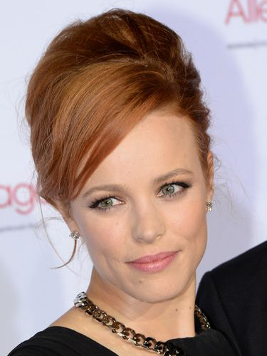 "<p>Rachel McAdams' high hair and Bambi mascara make the perfect marriage. The odd wispy strands keep it cool, not just chic.</p> <p><a href=""http://www.cosmopolitan.co.uk/beauty-hair/news/styles/celebrity/rebellious-celebrity-hairstyles-statement-hair"" target=""_blank"">CELEBRITY TREND: REBEL HAIR</a></p> <p><a href=""http://www.cosmopolitan.co.uk/beauty-hair/news/styles/celebrity/frow-hair-celebrity-fashion-week"" target=""_blank"">FRONT ROW HAIRSTYLES WE LOVE</a></p> <p><a href=""http://www.cosmopolitan.co.uk/beauty-hair/news/styles/celebrity/"" target=""_blank"">MORE CELEBRITY HAIR IDEAS</a></p>"