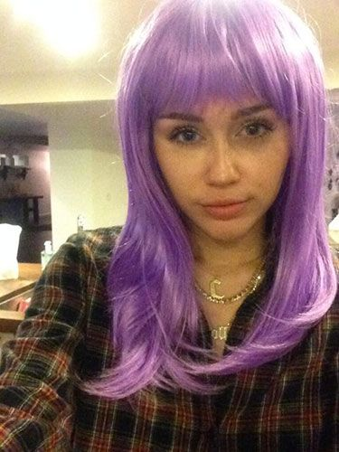 "<p>Miley's 'halloween' look - less scary than her usual get-up. </p> <p><a href=""http://www.cosmopolitan.co.uk/beauty-hair/news/styles/celebrity/cosmo-hairstyle-of-the-day"" target=""_blank"">HAIRSTYLE OF THE DAY</a></p> <p><a href=""http://www.cosmopolitan.co.uk/beauty-hair/news/hairstyles/wig-hair-trend-2013-14"" target=""_blank"">WHY WIGS ARE THE NEW HAIR TREND</a></p> <p><a href=""http://www.cosmopolitan.co.uk/beauty-hair/news/trends/celebrity-beauty/georgia-may-jagger-instagram-cara-delevingne"" target=""_blank"">THE NEW WIG TREND AT FASHION WEEK</a></p>"