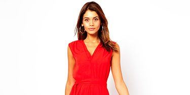 """<p>This is the perfect day to night transition dress - smart enough for the office, sexy enough for a party. The double v-neck and cinched in waist is flattering for all body types, whilst the midi length is bang on trend. Pair with killer black heels in the evening for office party glamour!</p> <p>Midi dress with double v-neck, £40, <a href=""""http://www.asos.com/ASOS/ASOS-Midi-Dress-With-Double-V-Neck/Prod/pgeproduct.aspx?iid=3073422&cid=8799&Rf-200=1&sh=0&pge=0&pgesize=204&sort=-1&clr=Red"""" target=""""_blank"""">ASOS</a></p> <p><a href=""""http://www.cosmopolitan.co.uk/fashion/shopping/office-party-dresses"""" target=""""_blank"""">THE OFFICE PARTY LITTLE BLACK DRESS EDIT</a></p> <p><a href=""""http://www.cosmopolitan.co.uk/fashion/shopping/what-to-wear-this-week-28-october-2013"""" target=""""_blank"""">WHAT TO WEAR THIS WEEK </a></p> <p><a href=""""http://www.cosmopolitan.co.uk/fashion/shopping/ten-winter-boots-under-fifty-pounds"""" target=""""_blank"""">TOP TEN WINTER BOOTS UNDER £50</a></p>"""