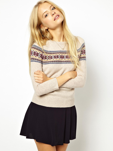 Women's Fair Isle Christmas jumpers 2013 :: Winter fashion trends 2013