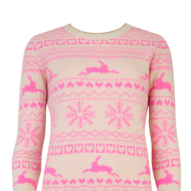 """<p>This combo of Fair Isle in winter pastels is just dreamy, don't you think? The prettiest way to do a festive knit.</p><p>Ted Baker Maysi Fair Isle Jumper, £99, <a href=""""http://www.johnlewis.com/ted-baker-maysi-fairisle-jumper/p764586?kpid=232564911"""" target=""""_blank"""">johnlewis.com</a></p><p><a href=""""http://www.cosmopolitan.co.uk/fashion/shopping/christmas-jumpers-2013-primark-womens"""" target=""""_blank"""">PRIMARK'S CHRISTMAS JUMPERS ARE HERE!</a></p><p><a href=""""http://www.cosmopolitan.co.uk/fashion/shopping/fluffy-jumpers-winter-fashion-trend"""" target=""""_blank"""">FIVE OF THE BEST FLUFFY JUMPERS</a></p><p><a href=""""http://www.cosmopolitan.co.uk/fashion/shopping/investment-winter-coats"""" target=""""_blank"""">10 WINTER COATS WORTH INVESTING IN</a></p>"""