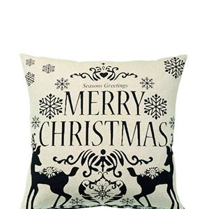 """<p>Forgot a christmas card! Share your christmas greetings with a lovely little cushion instead.</p><p>Merry Christmas Black Print cushion, £10, <a href=""""http://www.cargohomeshop.com/Merry_Christmas_Print_Cushion_45_x_45_cm"""" target=""""_blank"""">cargohomeshop.com</a></p>"""