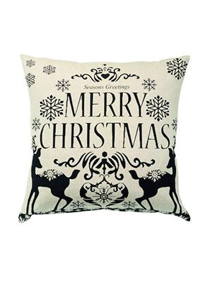 "<p>Forgot a christmas card! Share your christmas greetings with a lovely little cushion instead.</p> <p>Merry Christmas Black Print cushion, £10, <a href=""http://www.cargohomeshop.com/Merry_Christmas_Print_Cushion_45_x_45_cm"" target=""_blank"">cargohomeshop.com</a></p>"