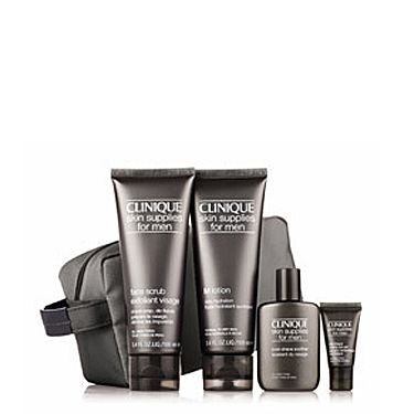 <p>Give Dad a boost with his skin care thanks to this fab set from Clinique that includes a cooling eye gel to revitalize tired-looking eyes.</p>