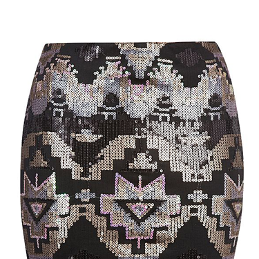 <p>While this sparkly little number is ideal for nights out, we're all about wearing sequins by day and teaming with an oversize knit and stompy boots for grungy glam.</p>