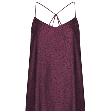 <p>We love the rich wine hue of this 90s-inspired cami dress&#x3B; wear with the Topshop sandals on the previous slide for a BERRY nice colour-blocked look.</p>