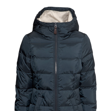 """<p>This puffer jacket means business. The high collar, hood and down lining mean you'll stay snug, plus the nipped-in waist will avoid you looking like the marshmallow man.</p><p>Down jacket, £49.99, <a href=""""http://www.hm.com/gb/product/10081?article=10081-A"""" target=""""_blank"""">hm.com</a></p><p><a href=""""http://www.cosmopolitan.co.uk/fashion/shopping/womens-christmas-fair-isle-jumpers-2013"""" target=""""_blank"""">WINTER WARMERS: SHOP 9 NIFTY KNITS</a></p><p><a href=""""http://www.cosmopolitan.co.uk/fashion/shopping/investment-winter-coats"""" target=""""_blank"""">10 WINTER COATS WORTH INVESTING IN</a></p><p><a href=""""http://www.cosmopolitan.co.uk/fashion/shopping/christmas-jumpers-2013-primark-womens"""" target=""""_blank"""">PRIMARK'S CHRISTMAS JUMPERS ARE EXCELLENT</a></p>"""
