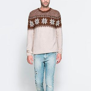 """<p>However much you try to get your new man to wear matching Christmas jumpers, sometimes it just doesn't work. Ease him into the Christmas jumper feeling with this mohair knit. He'll think it's come from exotic South American country and feel like a winter traveller. Plus it's pretty cute!</p><p>Jacquard sweater, £45.99, <a href=""""http://www.zara.com/uk/en/man/knitwear/jacquard-sweater-c269238p1327830.html"""" target=""""_blank"""">Zara</a></p><p><a href=""""http://www.cosmopolitan.co.uk/fashion/shopping/cosmo-new-boyfriend-gift-guide-giveaway?click=main_sr#fbIndex1"""" target=""""_blank"""">COSMO'S 2012 NEW BOYFRIEND GIFT GUIDE</a></p><p><a href=""""http://www.cosmopolitan.co.uk/fashion/shopping/long-term-boyfriend-christmas-gift-guide-2013"""" target=""""_blank"""">LONG TERM BOYFRIEND CHRISTMAS GIFT GUIDE</a></p><p><a href=""""http://www.cosmopolitan.co.uk/love-sex/tips/sexy-christmas-2013"""" target=""""_blank"""">SEXY CHRISTMAS GIFT GUIDE</a></p>"""
