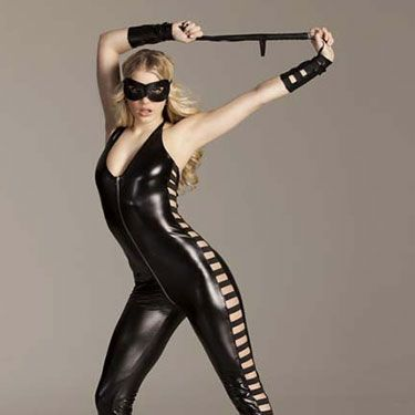 """<p>Go all reverse Fifty Shades in this latex jumpsuit, as worn by sex kitten Nicole Scherzinger just last week for Halloween. Channel your inner dominatrix and show your man who's boss. He won't be able to resist. Unless you make him, of course.</p><p>Dominatrix jumpsuit, £35, <a href=""""http://www.annsummers.com/p/dominatrix-jumpsuit/17ododas1218006%20"""" target=""""_blank"""">Ann Summers</a></p><p><a href=""""http://www.cosmopolitan.co.uk/love-sex/tips/cosmo-sexy-christmas-gift-guide#fbIndex1"""" target=""""_blank"""">COSMO'S SEXY CHRISTMAS GIFT GUIDE 2012</a></p><p><a href=""""http://www.cosmopolitan.co.uk/fashion/shopping/new-boyfriend-gift-guide-2013?page=1"""" target=""""_blank"""">NEW BOYFRIEND CHRISTMAS GIFT GUIDE</a></p><p><a href=""""http://www.cosmopolitan.co.uk/fashion/shopping/long-term-boyfriend-christmas-gift-guide-2013"""" target=""""_blank"""">LONG TERM BOYFRIEND CHRISTMAS GIFT GUIDE</a></p>"""