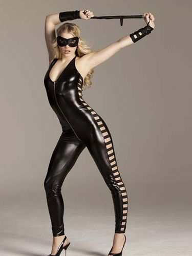 "<p>Go all reverse Fifty Shades in this latex jumpsuit, as worn by sex kitten Nicole Scherzinger just last week for Halloween. Channel your inner dominatrix and show your man who's boss. He won't be able to resist. Unless you make him, of course.</p> <p>Dominatrix jumpsuit, £35, <a href=""http://www.annsummers.com/p/dominatrix-jumpsuit/17ododas1218006%20"" target=""_blank"">Ann Summers</a></p> <p><a href=""http://www.cosmopolitan.co.uk/love-sex/tips/cosmo-sexy-christmas-gift-guide#fbIndex1"" target=""_blank"">COSMO'S SEXY CHRISTMAS GIFT GUIDE 2012</a></p> <p><a href=""http://www.cosmopolitan.co.uk/fashion/shopping/new-boyfriend-gift-guide-2013?page=1"" target=""_blank"">NEW BOYFRIEND CHRISTMAS GIFT GUIDE</a></p> <p><a href=""http://www.cosmopolitan.co.uk/fashion/shopping/long-term-boyfriend-christmas-gift-guide-2013"" target=""_blank"">LONG TERM BOYFRIEND CHRISTMAS GIFT GUIDE</a></p>"