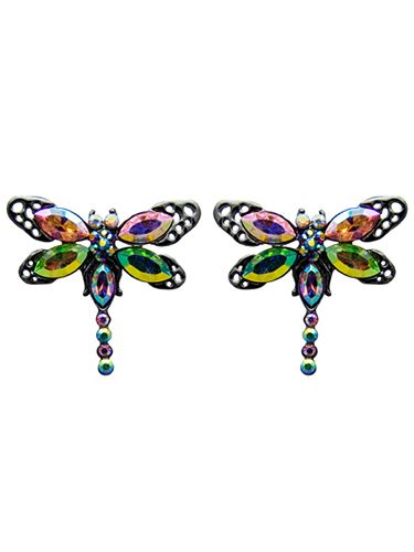 <p>We're buzzing at the prospect of teaming these iridescent lovelies with our Christmas outfits! </p>