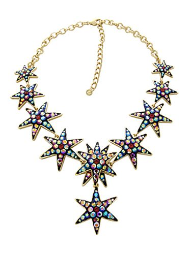 <p>Featuring Swarovski crystal, this necklace is a showstopper that will have you looking more sparkly than a tinsel-covered-disco ball. Well, nearly.</p>