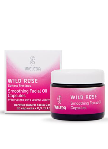 """<p><strong>THEY SAY:</strong> Using the finest organic rose petals, this light but intensive, high quality elixir, invigorates tired, dry or dull complexions and uses the sought-after damask roses for its natural ability to restore radiance, support skin renewal and increase skin elasticity.</p> <p><strong>WE SAY:</strong> These capsules are great for travel compared to a bottle. The texture is satisfyingly thick but easy to apply, and my skin felt more hydrated after less than a week of use. This smells very 'organic', so actually not that nice! But at least you can tell it's definitely not synthetic. I would buy these again.</p> <p><strong>SCORE: 9/10</strong></p> <p><strong>Weleda Wild Rose Facial Oil Capsules, £18.95 <a href=""""http://www.weleda.co.uk"""" target=""""_blank"""">Weleda.co.uk </a></strong></p>"""