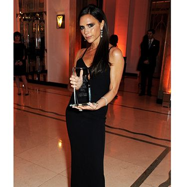 """<p>Just like Stella, Victoria chose to wear one of her own designs to the awards - an understated black number which she wore with side-swept locks.</p><p><a href=""""http://www.cosmopolitan.co.uk/fashion/celebrity/best-dressed-celebrities-LACMA-2013?click=main_sr"""" target=""""_blank"""">HOLLYWOOD'S LEADING LADIES DAZZLE AT THE LACMA GALA</a></p><p><a href=""""http://www.cosmopolitan.co.uk/fashion/shopping/christmas-party-dresses-investment"""" target=""""_blank"""">10 DREAMY PARTY DRESSES</a></p><p><a href=""""http://www.cosmopolitan.co.uk/fashion/shopping/office-party-red-dress"""" target=""""_blank"""">THE RED DRESS EDIT</a></p>"""