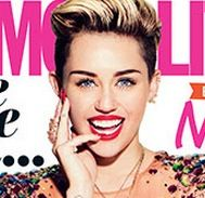"<p>Global phenemonon and often controversial celeb Miley Cyrus graces the cover of both the UK and US versions of Cosmopolitan, with a unique shared photoshoot which was produced by the UK Cosmo team.</p> <p>Miley Cyrus talks fame, living without regrets and staying true to herself in this exclusive Cosmo interivew...</p> <p><a href=""http://www.cosmopolitan.co.uk/celebs/entertainment/miley-cyrus-cosmopolitan-cover-2013"" target=""_blank"">READ MILEY CYRUS'S DECEMBER ISSUE INTERVIEW</a></p>"