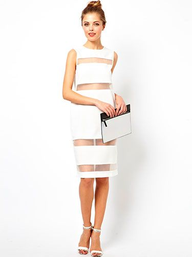 "<p>Are you a pint-sized fashionista? ASOS Petite's exclusive shift dress is the dress for you. You'll feel like you should be prancing about in Sex and the City. If you can't afford to pair it with Manolo Blahniks, team it with some white sandals a la Carrie (just without the price tag). We're tempted to buy it even if we're not petite…</p> <p>Shift dress with sheer inserts, £38, <a href=""http://www.asos.com/Asos-Petite/Asos-Petite-Exclusive-Shift-Dress-With-Sheer-Inserts/Prod/pgeproduct.aspx?iid=3573979&cid=2623&sh=0&pge=0&pgesize=204&sort=-1&clr=White"" target=""_blank"">ASOS</a></p> <p><a href=""http://www.cosmopolitan.co.uk/fashion/shopping/christmas-party-dresses-investment"" target=""_blank"">COSMO'S TOP TEN DREAMY PARTY DRESSES</a></p> <p><a href=""http://www.cosmopolitan.co.uk/fashion/shopping/j-crew-uk-store"" target=""_blank"">JOIN THE J-CREW</a></p> <p><a href=""http://www.cosmopolitan.co.uk/fashion/shopping/celebrity-winter-coat-inspiration"" target=""_blank"">WINTER COAT INSPIRATION </a><br /><br /></p>"