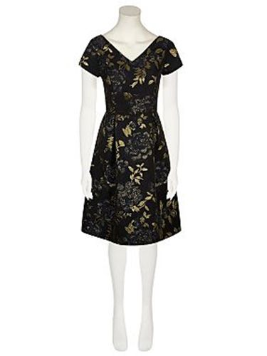 """<p>This opulent, printed dress looks a lot grander than the price tag would suggest. Wear with gold jewellery to complement the jacquard detail.</p> <p>Jacquard prom dress, £25, <a href=""""http://direct.asda.com/george/womens/dresses/jacquard-prom-dress/G004463083,default,pd.html"""" target=""""_blank"""">asda.com</a></p> <p><a href=""""http://www.cosmopolitan.co.uk/fashion/shopping/christmas-party-accessories-jewellery-bags"""" target=""""_blank"""">40 AMAZING PARTY ACCESSORIES</a></p> <p><a href=""""http://www.cosmopolitan.co.uk/fashion/shopping/winter-coats-less-than-50-pounds"""" target=""""_blank"""">WINTER COATS FOR UNDER £50</a></p> <p><a href=""""http://www.cosmopolitan.co.uk/fashion/shopping/christmas-party-dresses-investment"""" target=""""_blank"""">10 INVESTMENT PARTY DRESSES</a></p> <p> </p>"""