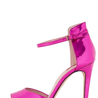 """<p>Wearing black to your Christmas party and want to add some colour to your oufit? Then look no further than these magnificent magenta heels. Fellow adults will compliment you, and any children in attendance will (correctly) assume that you're a princess. </p><p>Rebel pink mirror heels, £48, <a href=""""http://www.topshop.com/en/tsuk/product/shoes-430/heels-458/rebel-pink-mirror-heels-2302347?bi=1&ps=200"""" target=""""_blank"""">topshop.com</a></p><p><a href=""""http://www.cosmopolitan.co.uk/fashion/shopping/christmas-party-accessories-jewellery-bags"""" target=""""_blank"""">OUR FAVOURITE PARTY ACCESSORIES</a></p><p><a href=""""http://www.cosmopolitan.co.uk/fashion/shopping/cheap-christmas-party-dresses"""" target=""""_blank"""">PARTY DRESSES FOR UNDER £25</a></p><p><a href=""""http://www.cosmopolitan.co.uk/fashion/shopping/womens-christmas-fair-isle-jumpers-2013"""" target=""""_blank"""">NINE NIFTY KNITS</a></p>"""