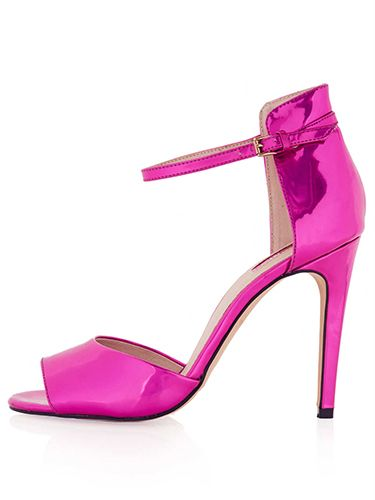 "<p>Wearing black to your Christmas party and want to add some colour to your oufit? Then look no further than these magnificent magenta heels. Fellow adults will compliment you, and any children in attendance will (correctly) assume that you're a princess. </p> <p>Rebel pink mirror heels, £48, <a href=""http://www.topshop.com/en/tsuk/product/shoes-430/heels-458/rebel-pink-mirror-heels-2302347?bi=1&ps=200"" target=""_blank"">topshop.com</a></p> <p><a href=""http://www.cosmopolitan.co.uk/fashion/shopping/christmas-party-accessories-jewellery-bags"" target=""_blank"">OUR FAVOURITE PARTY ACCESSORIES</a></p> <p><a href=""http://www.cosmopolitan.co.uk/fashion/shopping/cheap-christmas-party-dresses"" target=""_blank"">PARTY DRESSES FOR UNDER £25</a></p> <p><a href=""http://www.cosmopolitan.co.uk/fashion/shopping/womens-christmas-fair-isle-jumpers-2013"" target=""_blank"">NINE NIFTY KNITS</a></p>"