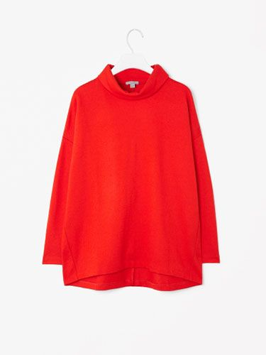 "<p>The Cosmo web team are all over the polo necks this season (see our <a href=""http://www.cosmopolitan.co.uk/fashion/how-to-wear-polo-necks"" target=""_blank"">guide on how to wear them!</a>) - we're loving this wide roll-neck from Cos, especially in this festive red hue. Its oversized fit makes it the perfect throw-over-jeans top, and will winter-fy any outfit.</p>