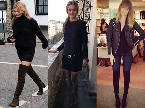 Top five thigh high boots :: Trends &amp Fashion
