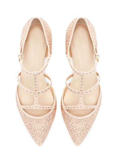 "<p>We'd feel just peachy with these twinkling treats on our tootsies. Who says you need heels to look good?</p> <p>Shiny pointy ballerina, £29.99, <a href=""http://www.zara.com/uk/en/woman/shoes/flats/shiny-pointy-ballerina-c269196p1296407.html"" target=""_blank"">zara.com</a></p> <p><a href=""http://www.cosmopolitan.co.uk/fashion/shopping/christmas-party-high-heel-shoes"" target=""_blank"">THE BEST CHRISTMAS PARTY HEELS</a></p> <p><a href=""http://www.cosmopolitan.co.uk/fashion/shopping/christmas-party-accessories-jewellery-bags"" target=""_blank"">AMAZING PARTY ACCESSORIES</a></p> <p><a href=""http://www.cosmopolitan.co.uk/fashion/shopping/cheap-christmas-party-dresses"" target=""_blank"">BARGAIN DRESSES FOR THE FESTIVE SEASON</a></p>"