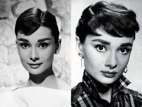 Lily Collins As Audrey Hepburn
