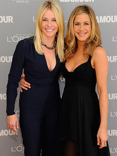 <p>These two hilarious actresses have been BFFs for quite awhile; they've even been known to go on girls vacations and to celebrate major holidays, like Thanksgiving, together. Jen is a regular on Chelsea's late-night show, Chelsea Lately, having gone on loads of times - and the pair always keep each other (and the audience) in stitches.</p>