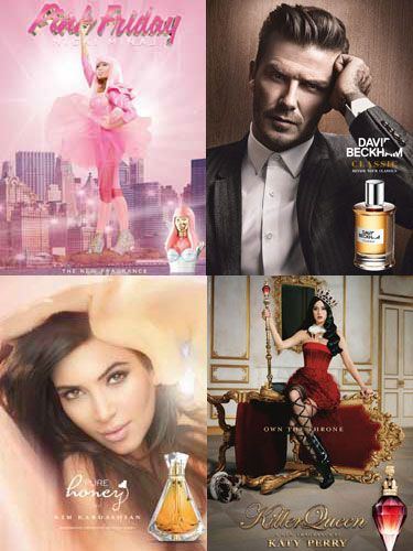 <p>Most people dream of being a celebrity (you do, be honest now), because who wouldn't want all the extra money and air miles? But it seems the consolation prize for not hitting the big time is smelling like someone that has. With celebrity perfumes worth millions in the UK alone, we decided to take a look at the famous faces that have ranked impressively high on this year's smell-o-meter…</p>